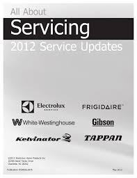electrolux ei23bc36 service manual