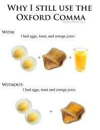 Comma Meme - oxford comma know your meme