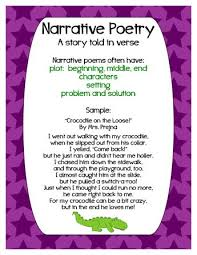 best 25 narrative poetry ideas on pinterest 4th grade journal