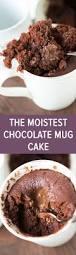 the moistest chocolate mug cake for one or two no egg