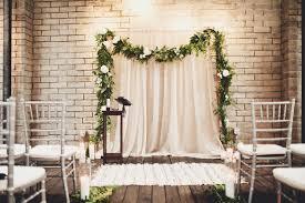 Pipe And Drape Rental Seattle Contemporary Portland Ballroom Wedding Backdrops Floral Garland