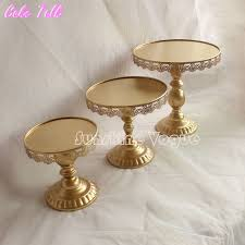 cake stands wholesale set of 12 pieces gold cake stand wedding cupcake stand set glass