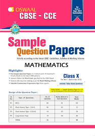 oswaal cbse cce sample question papers for class 10 term i april