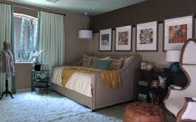 full size day bed bedroom transitional with bohemian chic daybed