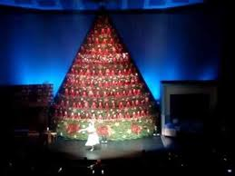 Decorated Christmas Trees Vancouver by 2012 Vancouver Singing Christmas Tree 1 Youtube