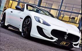 black maserati sports car mercedes benz s class car chauffeur luxury beverley and hull