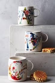monogram mugs letters u0026 gifts anthropologie