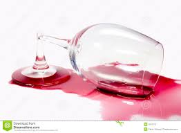 glass of wine broken glass of wine stock photography image 1041712