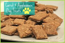 recipe for dog treats easy carrot applesauce dog treats recipe happyandsimple