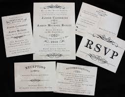 vintage style wedding invitations vintage steunk poster style antique wedding invitations