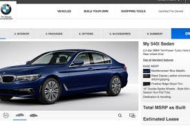 bmw usa accessories build your own 2017 bmw 5 series on bmwusa com