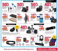 home depot black friday ap office depot and officemax black friday 2016 ad scan