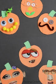 Fun Easy Halloween Crafts by Easy Jack O U0027 Lantern Collage Craft For Preschoolers Fall Craft