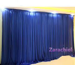 Discount Wedding Decorations 2016 New Style Ice Silk Elegant Wedding Backdrop 3m 3m Wedding
