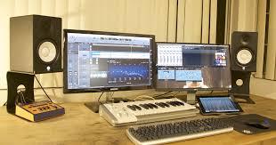 Studio Monitor Desk by Amazon Com Soundrise Professional Desktop Speaker Stands Black