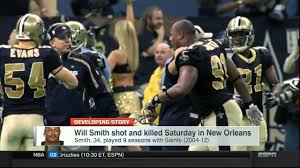 rip new orleans saint will smith 1981 2016 youtube