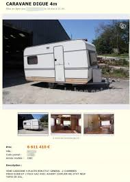 caravane 2 chambres une caravane en or perles du bon coin