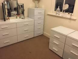 White Glass Bedroom Furniture Next White Glass Bedroom Furniture 2x Bedside Table Cabinets 6