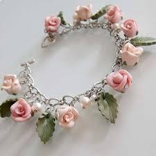 rose bracelet charm images Fresh design polymer clay bracelets 25 best bracelet ideas on jpg