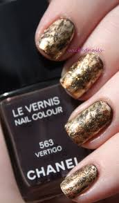 nail art saran wrap mani wickednails