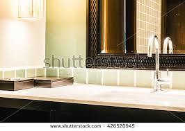 Decoration In Bathroom Faucet Sink Water Tab Decoration Kitchen Stock Photo 444931726