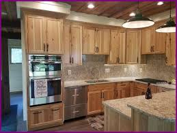 knotty hickory cabinets kitchen marvelous natural rustic hickory cabinets with for knotty kitchen of