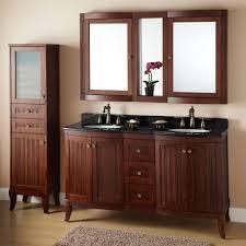 Houzz Bathroom Vanity by 32 Wulan Teak Medicine Cabinet With Mirror Bathroom Loversiq