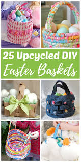 Easter Gifts For Adults Diy Upcycled Easter Baskets From Recycled Materials Rhythms Of Play