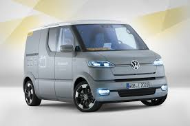 electric volkswagen van vw u0027s innovative ev van revealed autocar