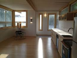 shipping container home interior looks are deceiving at this eco friendly shipping container house