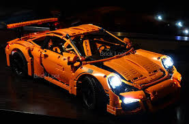 lego porsche life size cheap porsche 911 gt3 rs lighting kit for lego 42056 set lego set