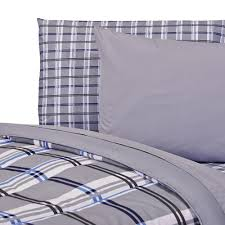 Twin Plaid Comforter Gibson Plaid College Classic Twin Xl Comforter Dorm Bedding And