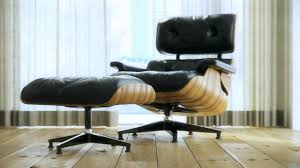 Eames Lounge Chair In Room Eames Lounge Chair Animation Youtube