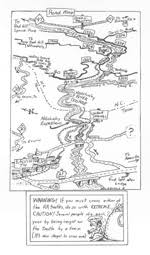 nantahala river map menasha ridge press maps