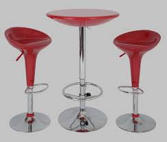Kitchen Furniture Sale Chrome Pub Table Game Room Dinettes Small Space 3pc Kitchen