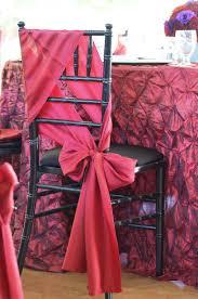 Diy Chair Sashes Chair Sash Tutorial