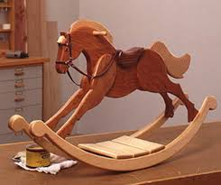 Teddy Bear Rocking Chair Rockler Company Solid Oak Wooden Rocking Horse Rocking Horses Horse And Wood