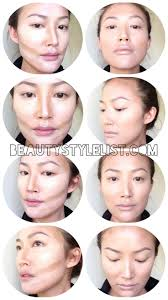 steps too faced no makeup how to contour your face with liquid foundation contour asian face how to contour with liquid