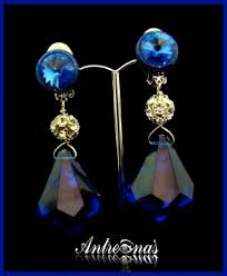clip on earrings accessorize angelic sapphire clip on earring antreina s clip on earrings