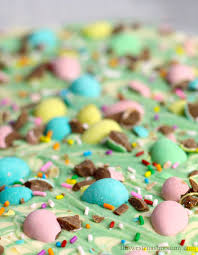 easter mini egg chocolate bark this west coast mommy