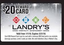 landry s gift card landry s gift cards ebay