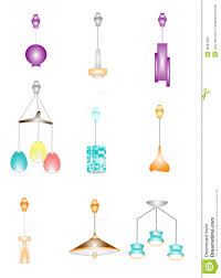retro retractable ceiling lights royalty free stock images image