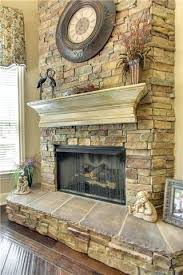 Stacked Stone Outdoor Fireplace - stack stone fireplaces imagine photos fireplace stacked stone
