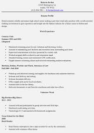 Fashion Industry Resume Resume Examples For Jobs With Little Experience Resume Example