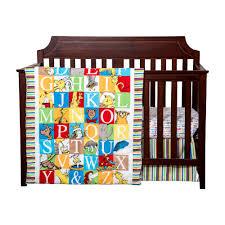 Dodger Crib Bedding by Seuss Alphabet Seuss 3 Pc Crib Bedding Set By Trend Lab