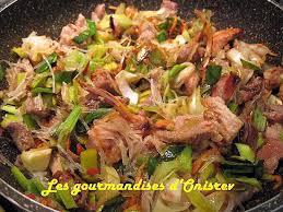 recette de wok de porc et de poireau à l asiatique
