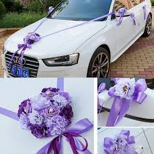 car ribbon wedding car ribbon married car decorations bridal car decoration