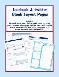 great facebook template for book reports http freeology com