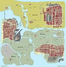 Gta World Map Gta Sa Grand Theft Auto San Andreas Maps On Gta Cz
