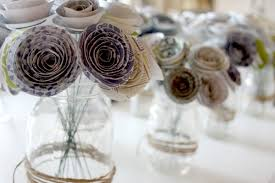 paper flower centerpieces paper flower centerpieces delicate construction